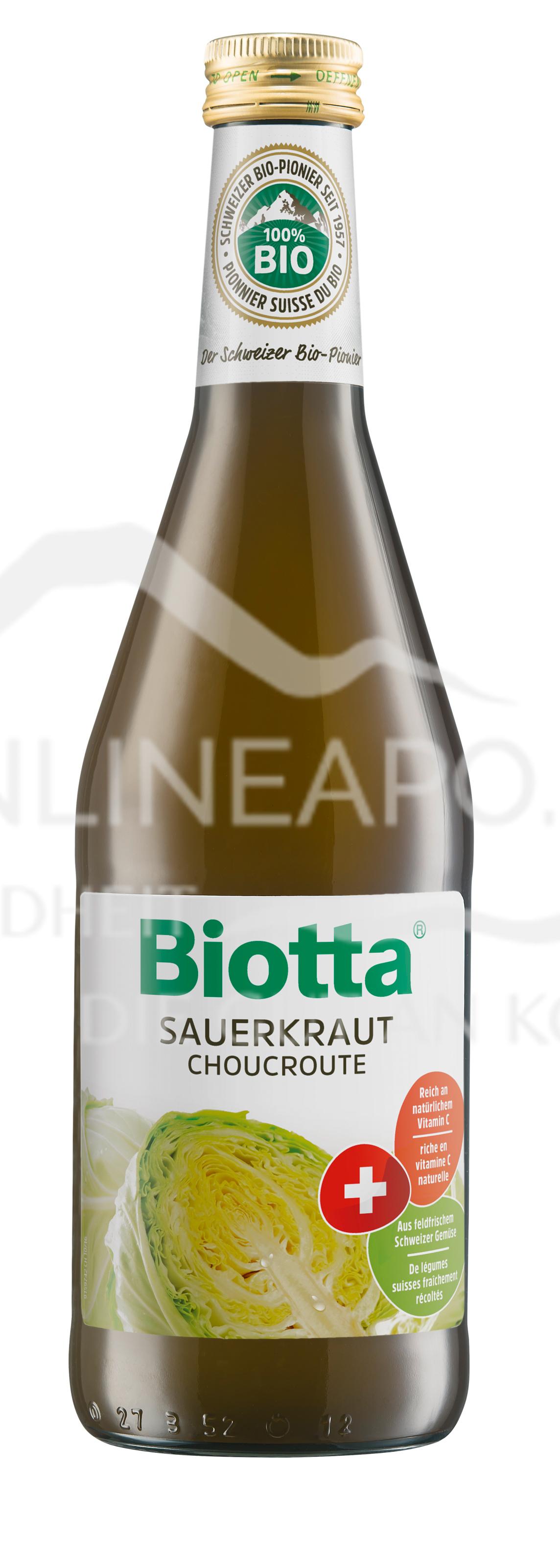 Biotta® Bio Sauerkraut Saft