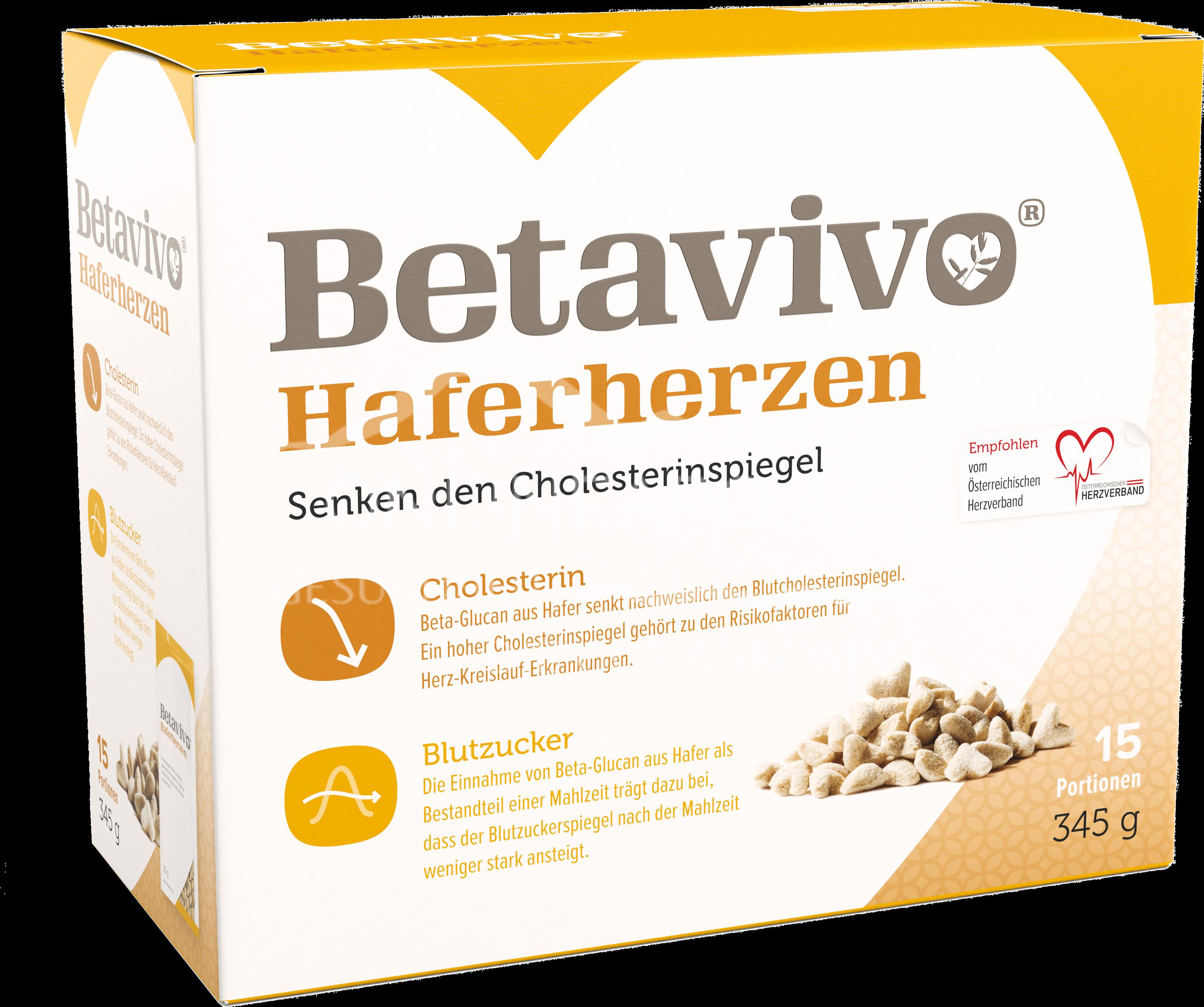 Betavivo Haferherzen