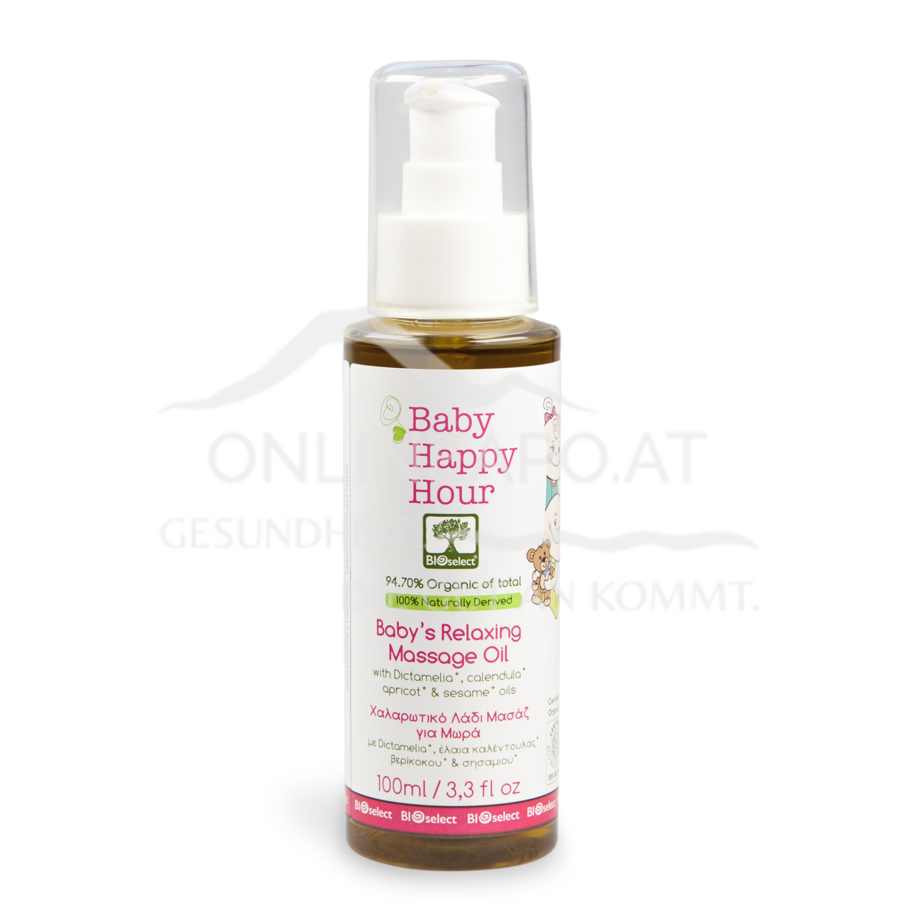 Bioselect Baby Happy Hour Baby''s Relaxing Massage Oil