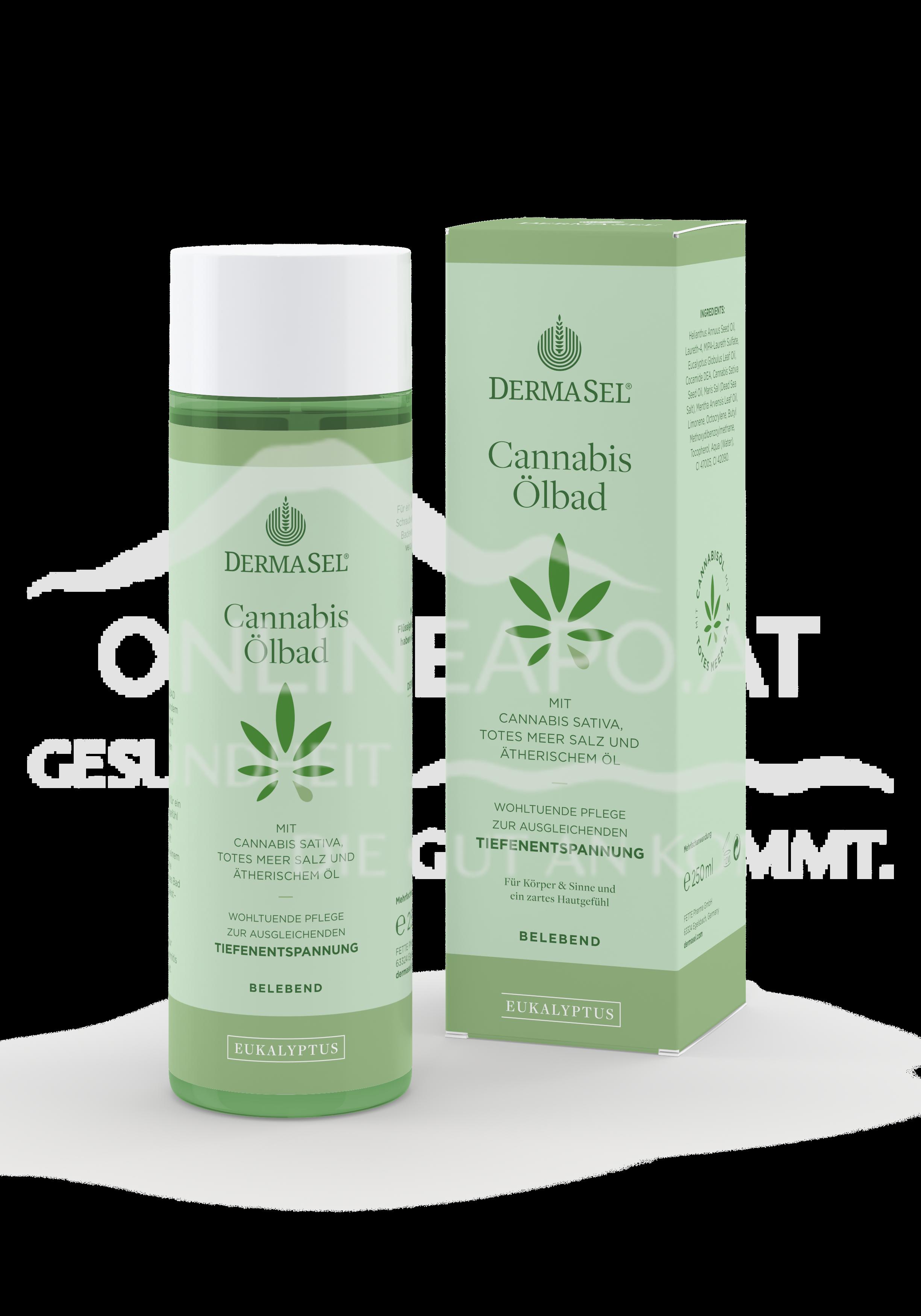 DermaSel® Cannabis Ölbad Eukalyptus