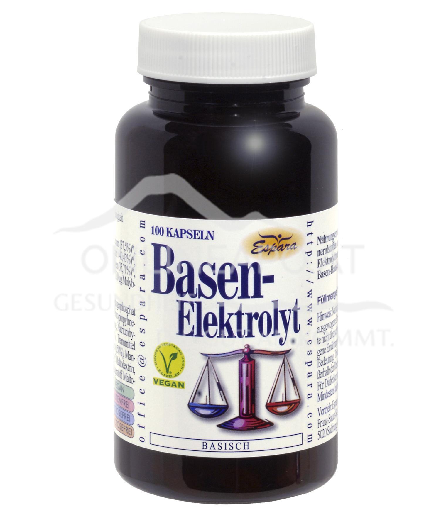 Espara Basen Elektrolyt Kapseln