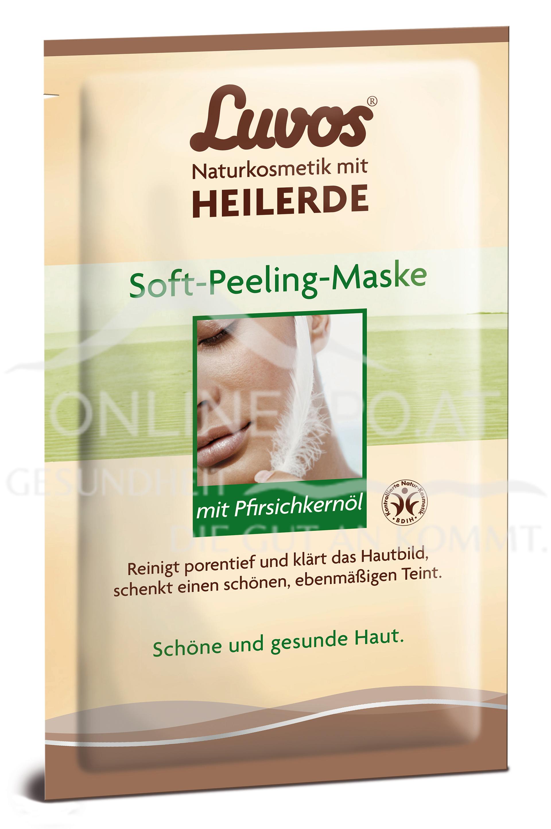 Luvos Heilerde Gesichtsmaske Peeling
