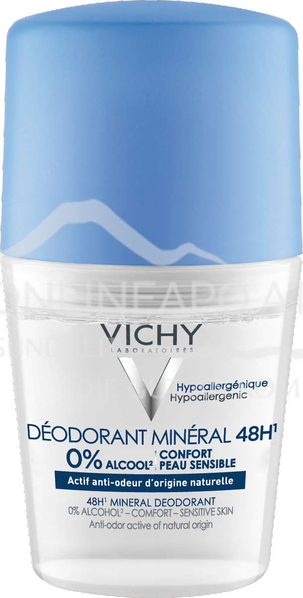 VICHY DEO Mineral Roll-On 48h ohne Aluminiumsalze