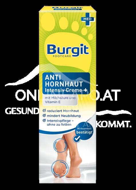 Burgit Footcare Anti Hornhaut Intensiv Creme Plus