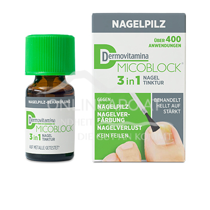 Dermovitamina Micoblock 3in1 Nagel-Tinktur