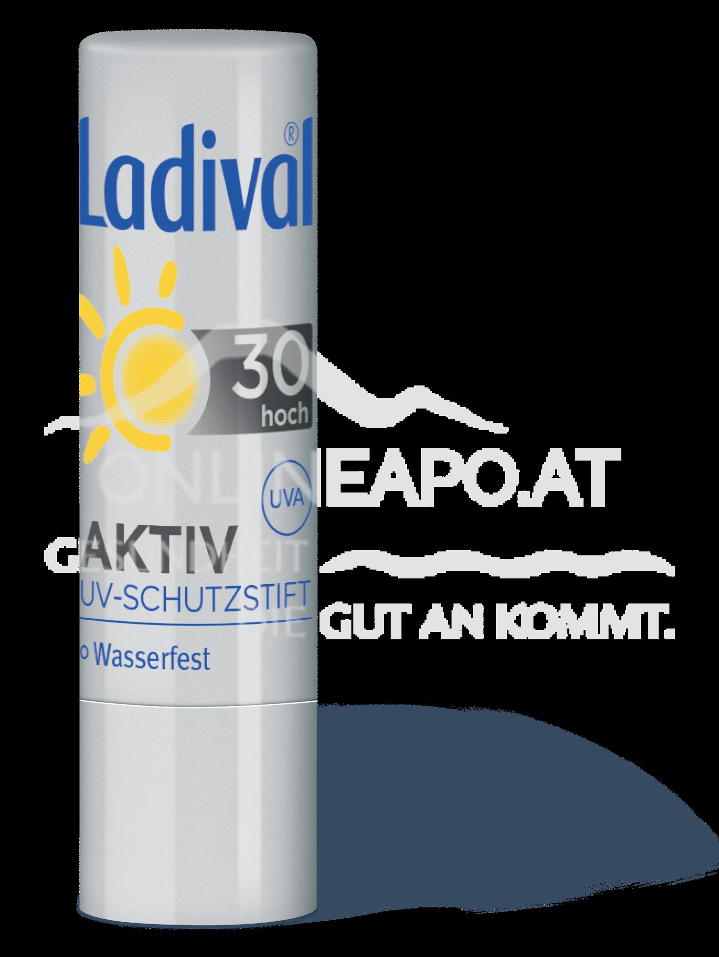 LADIVAL® Aktiv UV-Schutzstift für die Lippen LSF 30