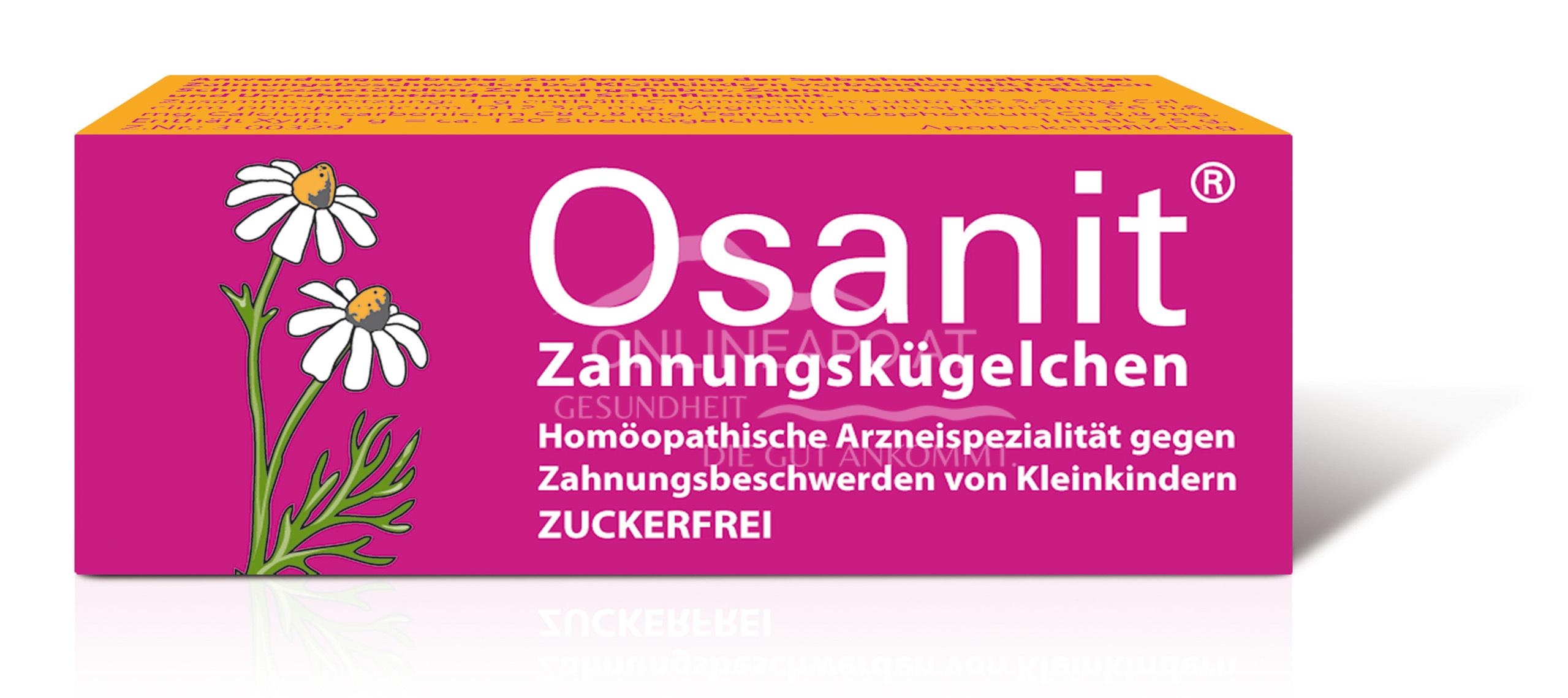 Osanit® Zahnungskügelchen