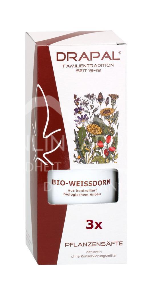 DRAPAL® Weißdorn bio Pflanzensaft
