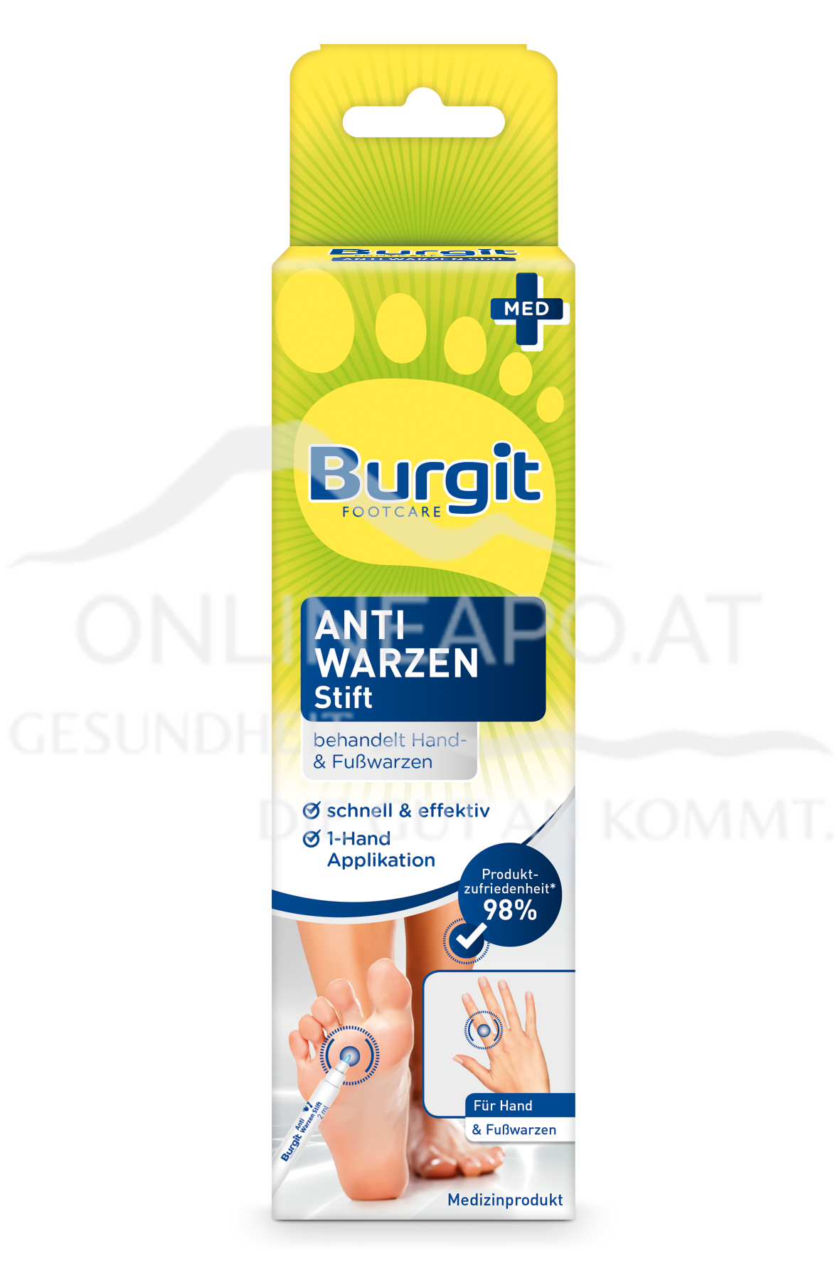 Burgit Anti Warzen Stift