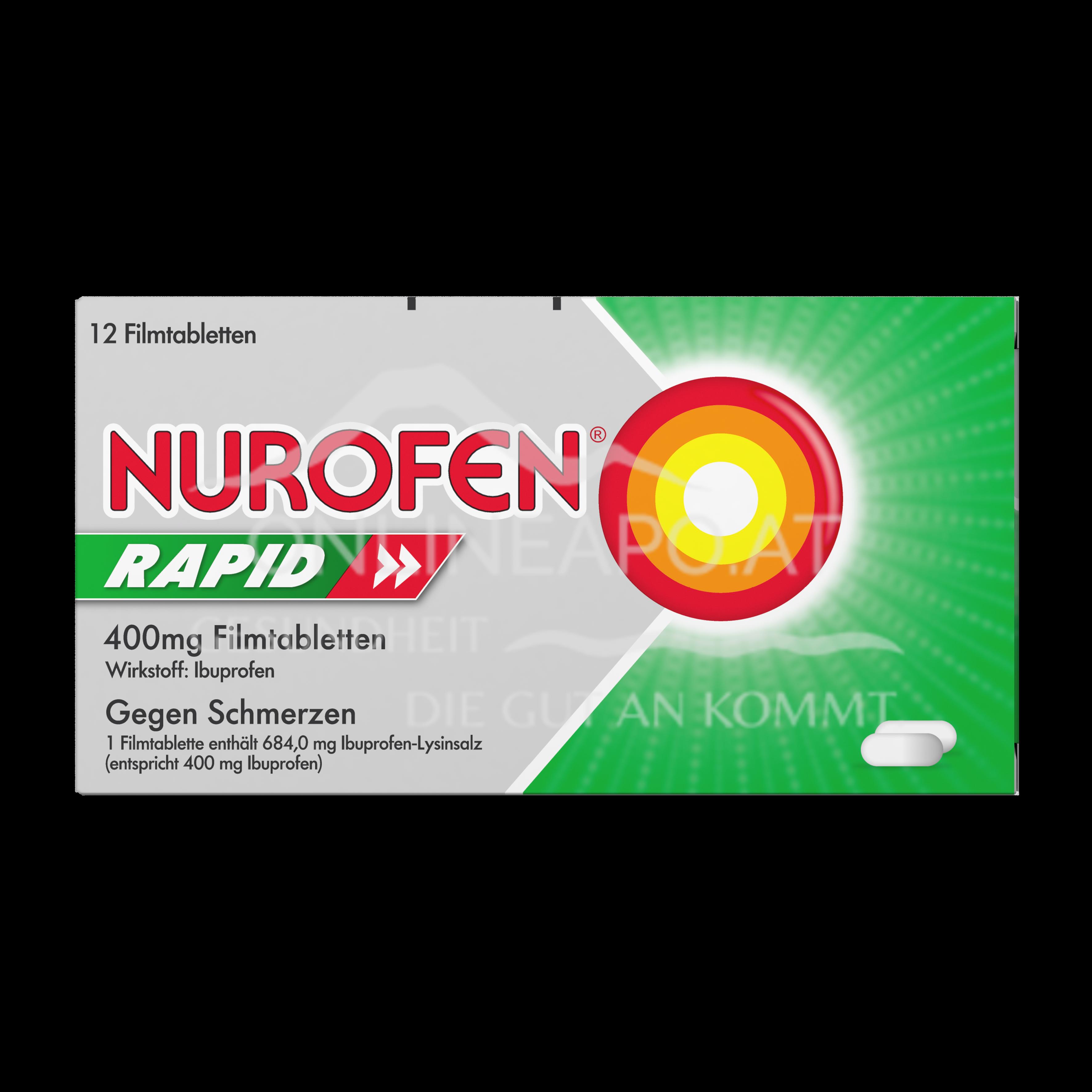 Nurofen® Rapid 400mg Filmtabletten
