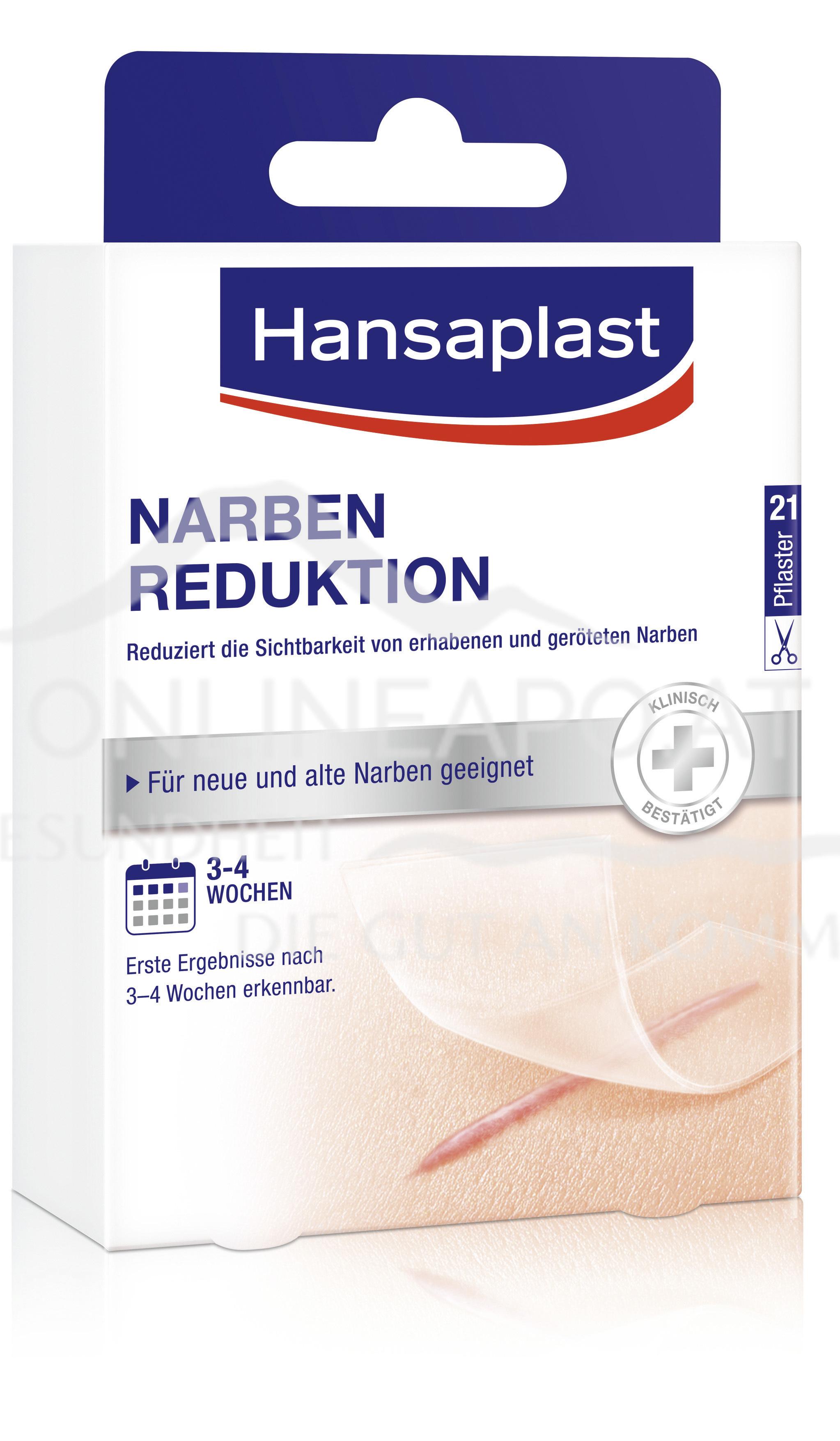 Hansaplast Narben Reduktion