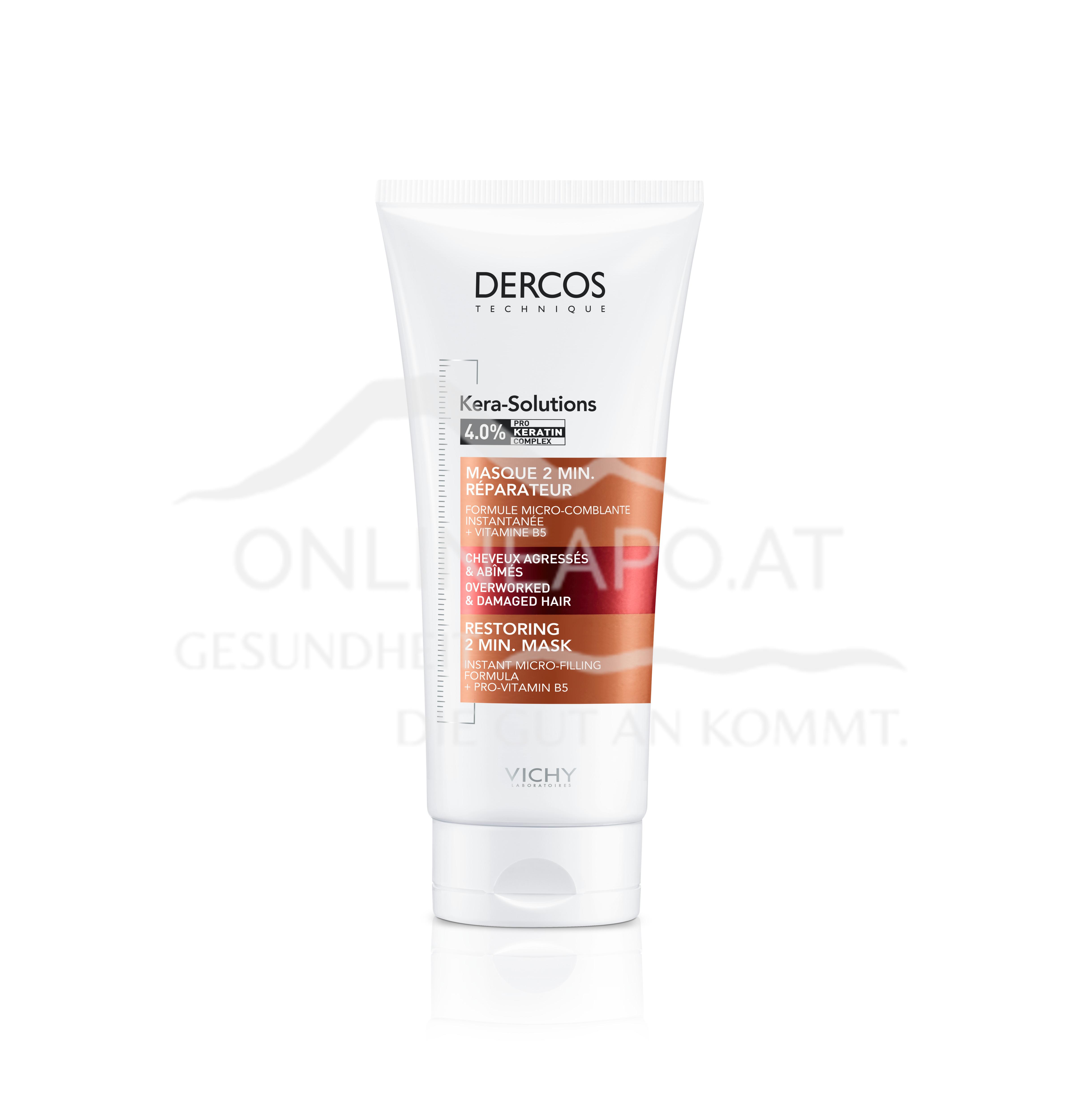 VICHY Dercos Kera Solutions Regenerierende Haarmaske
