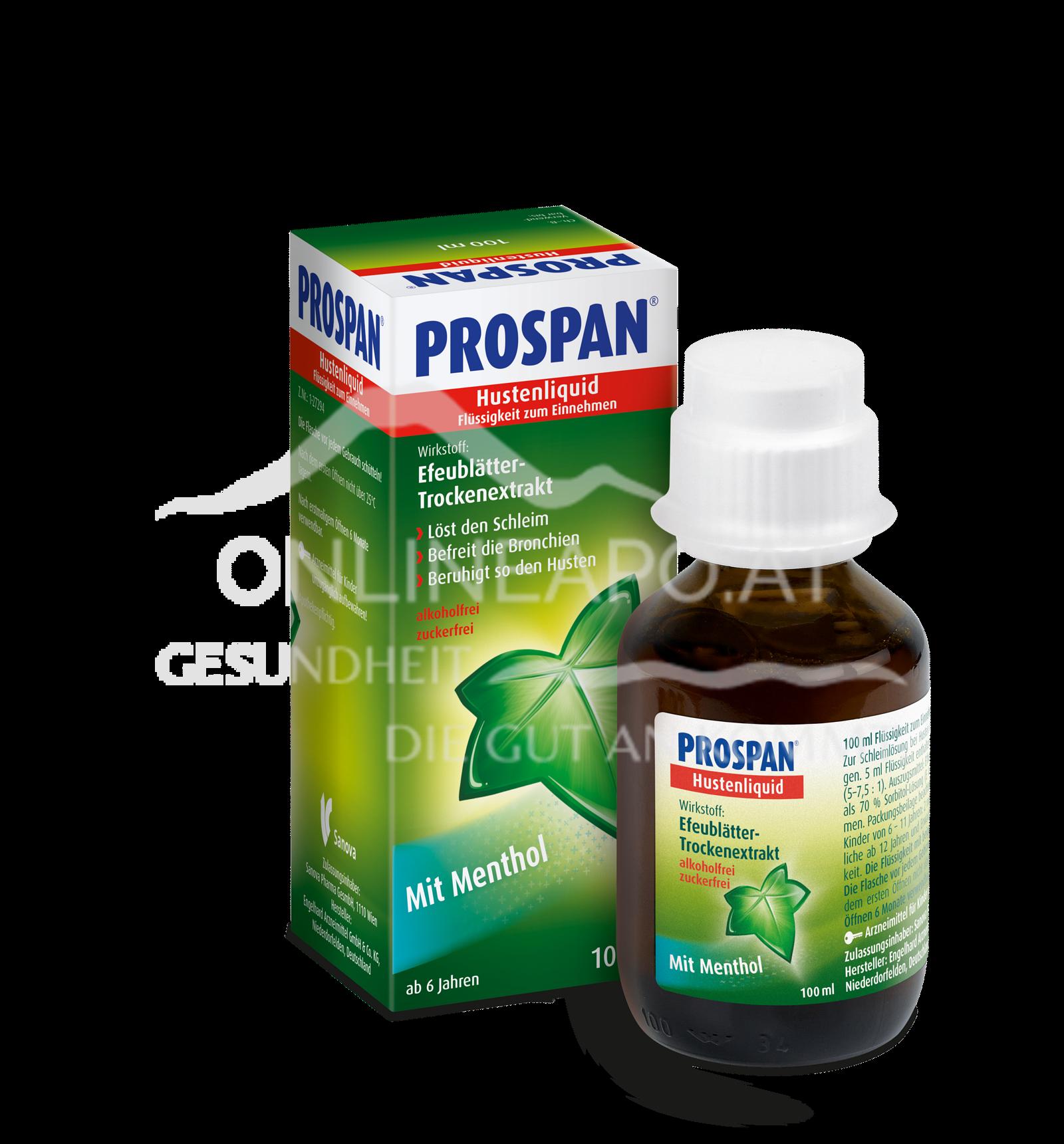 Prospan® Hustenliquid Flasche