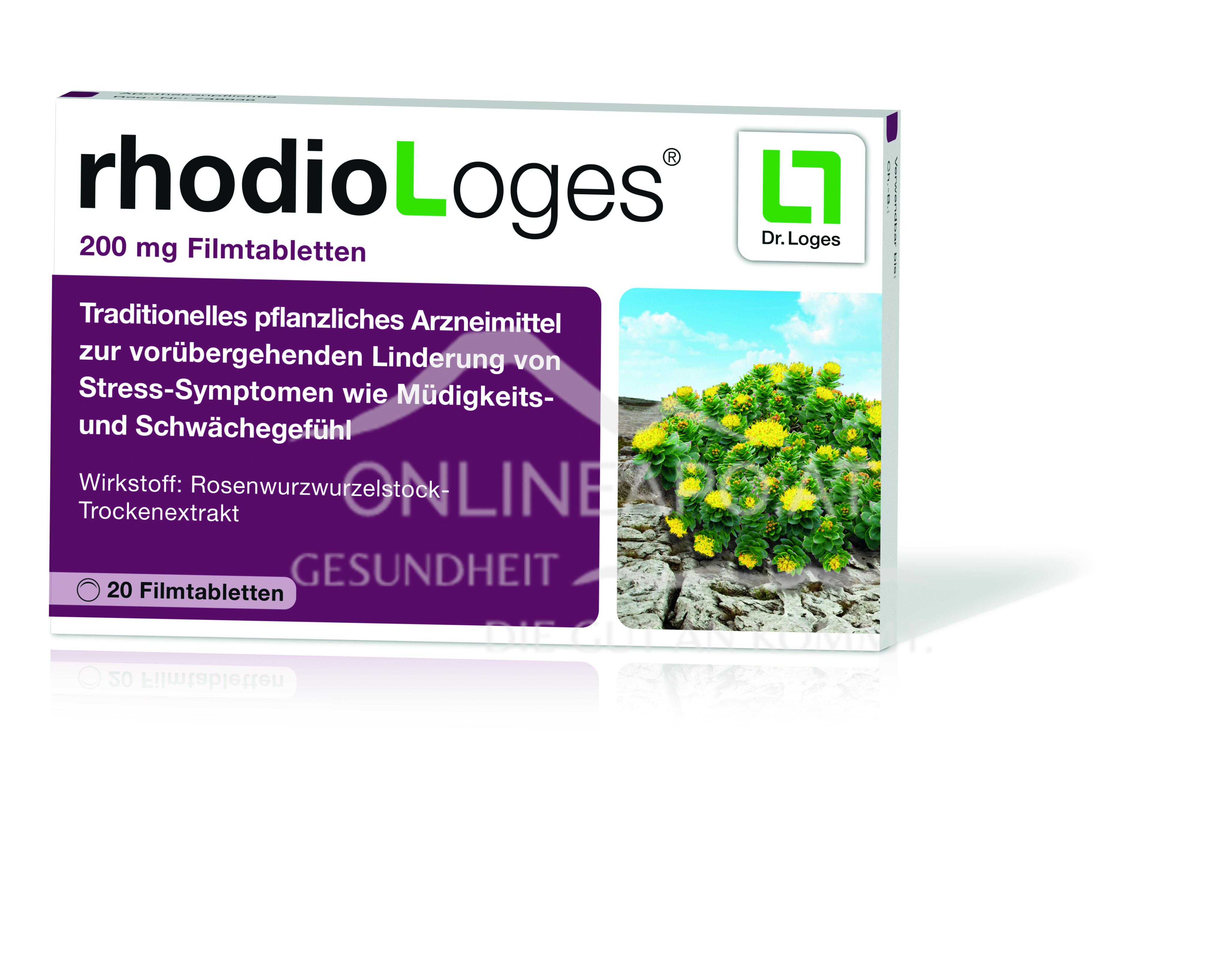 rhodioLoges® 200mg Filmtabletten