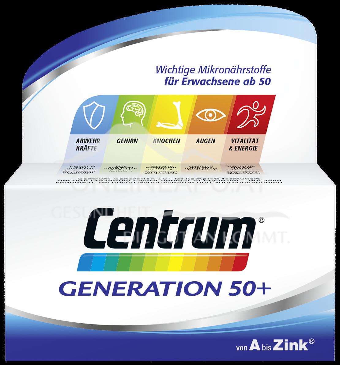 Centrum® Generation 50+ Tabletten