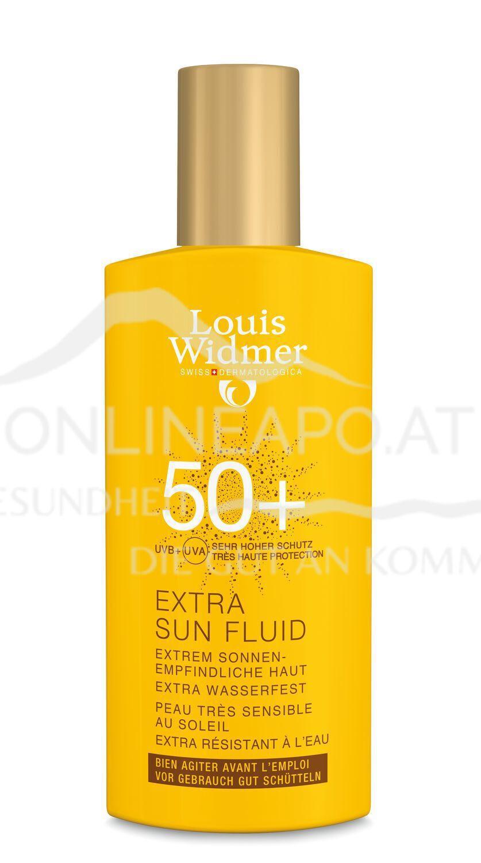 Louis Widmer Extra Sun Fluid 50+ ohne Parfüm