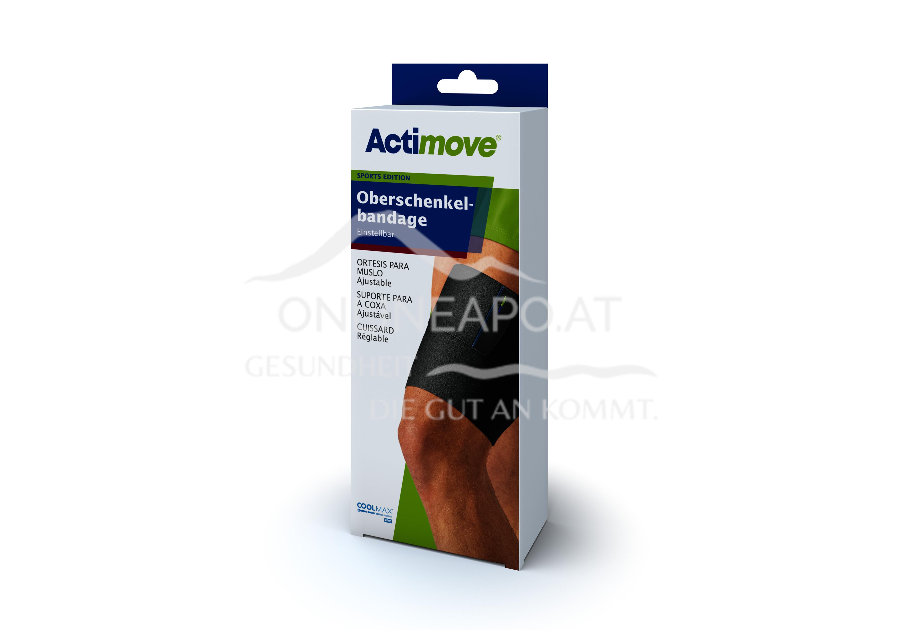Actimove® Sport Edition Oberschenkelbandage Einstellbar
