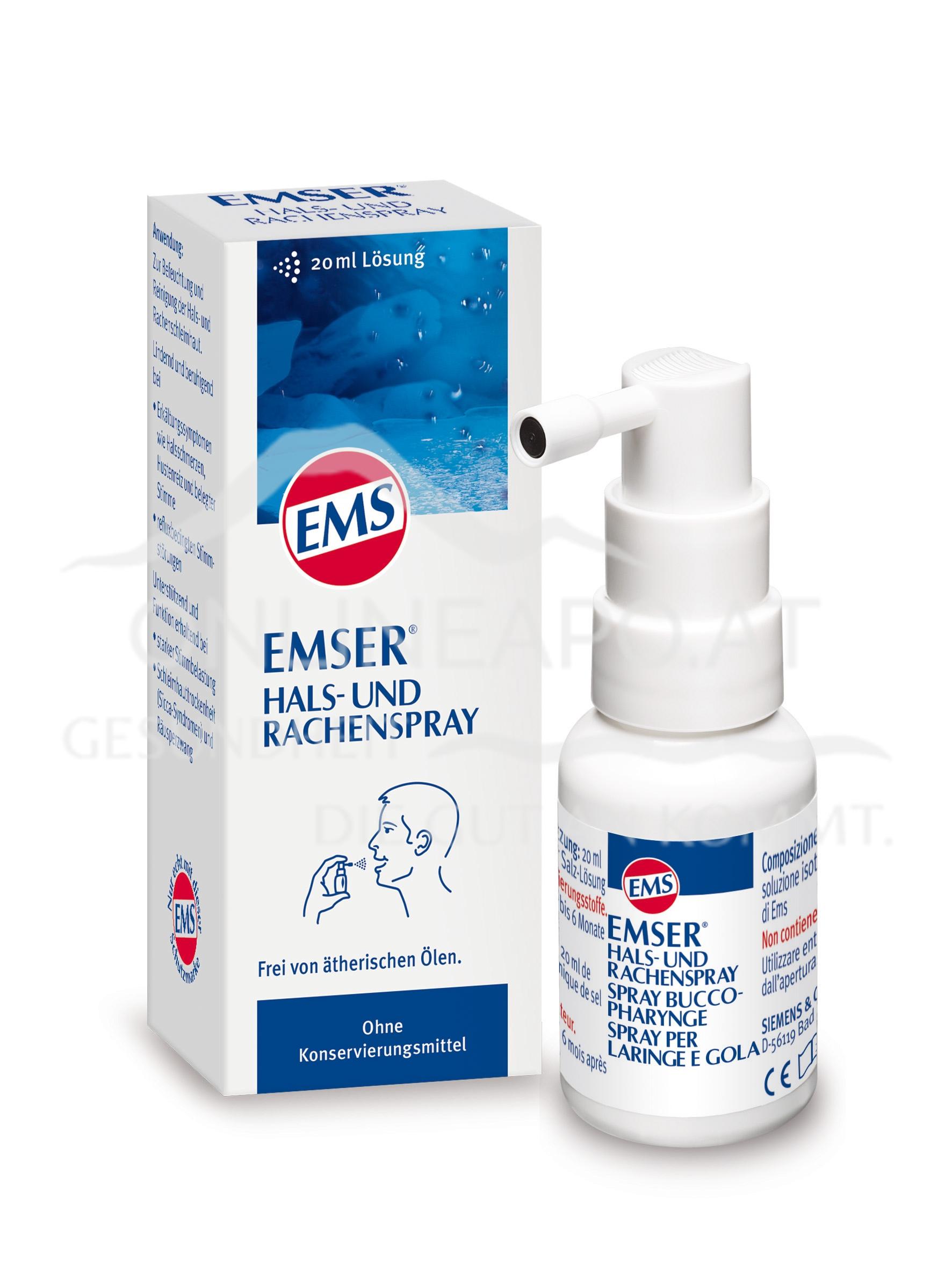 Emser® Hals- und Rachenspray