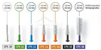 Curaprox CPS regular Interdentalbürsten