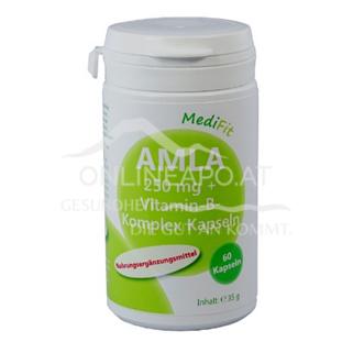 Amla 250mg + Vitamin-B-Komplex Kapseln