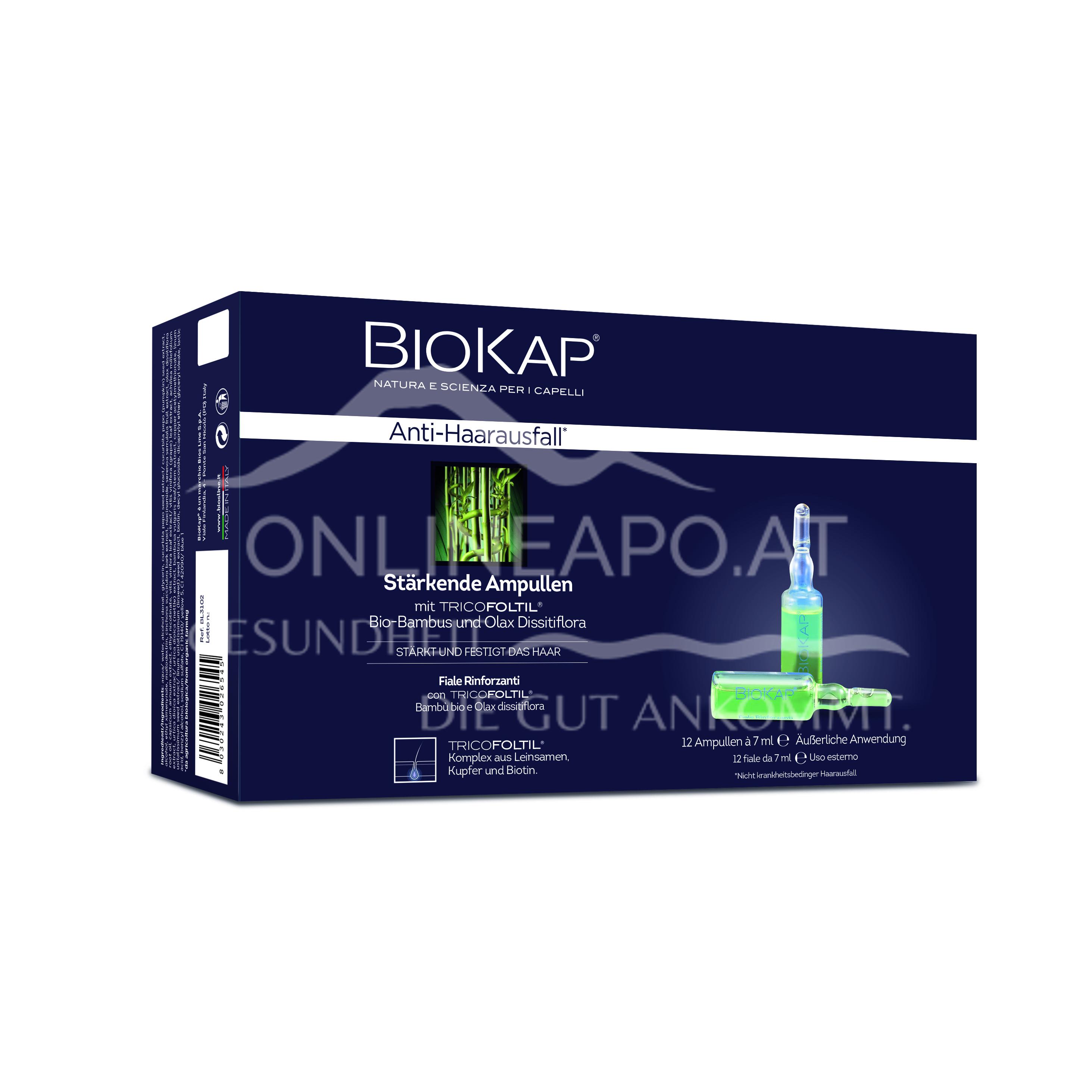 BioKap Anti-Haarausfall Stärkende Ampullen