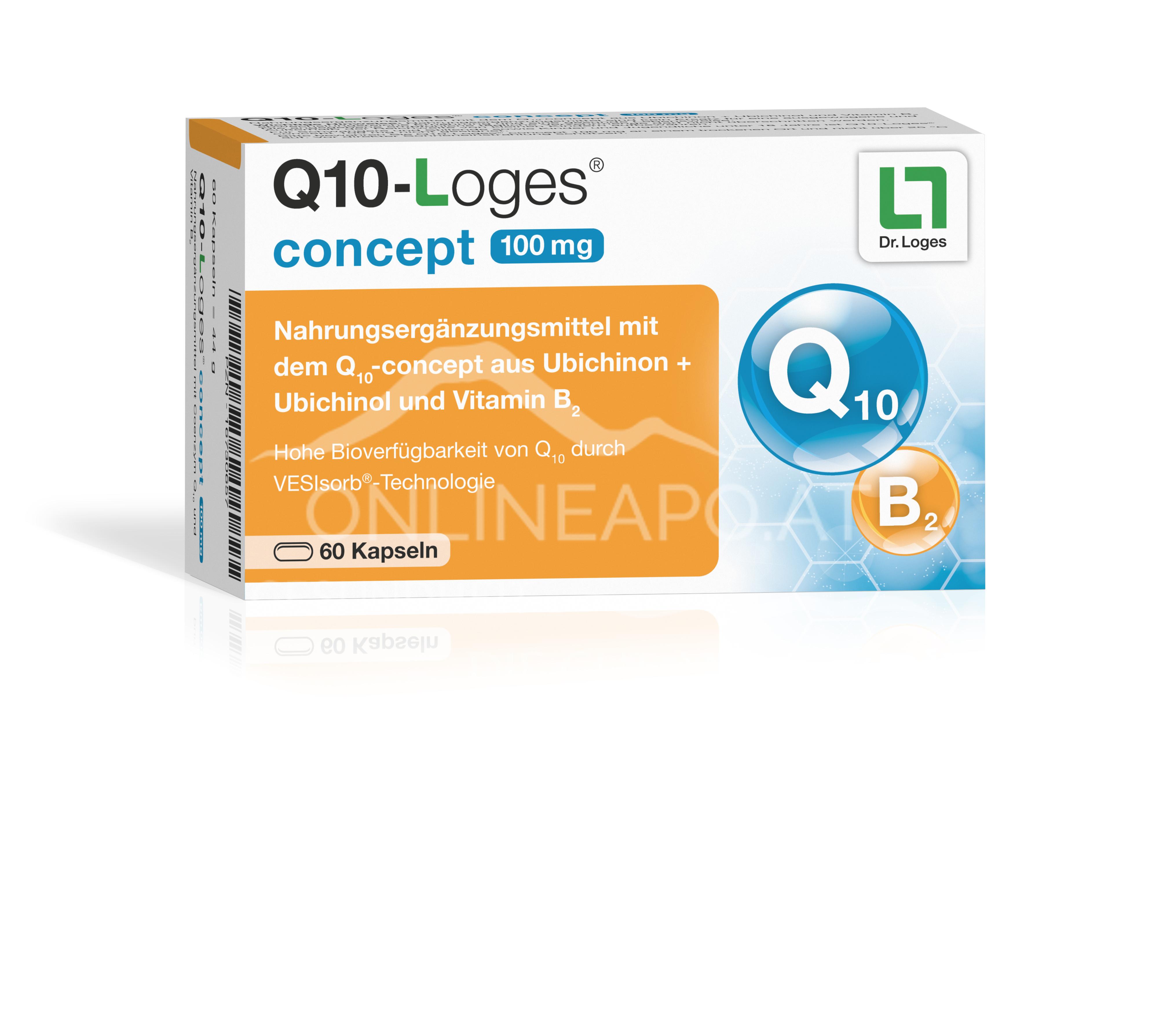 Q10-Loges® concept 100 mg Kapseln
