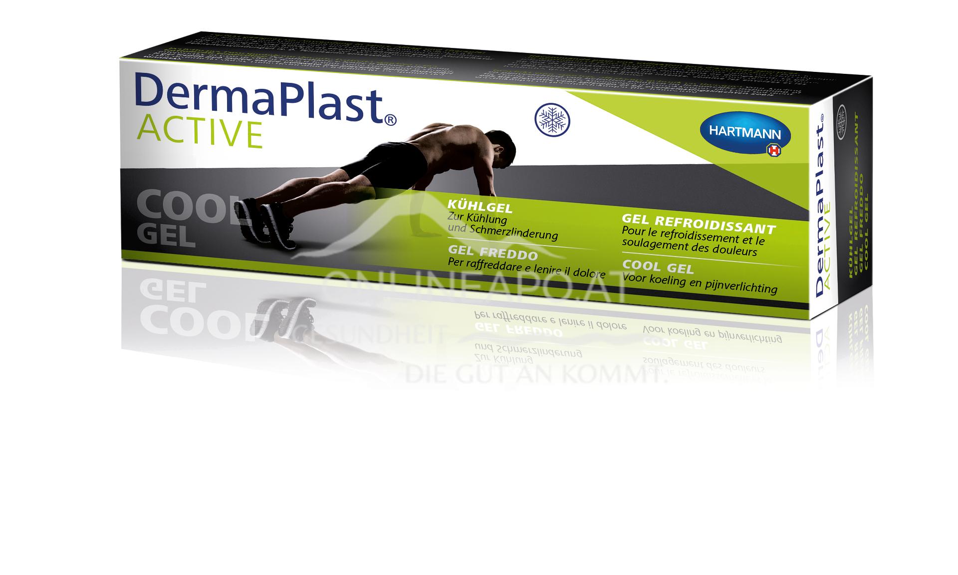 DermaPlast® ACTIVE Cool Gel, Kühlgel