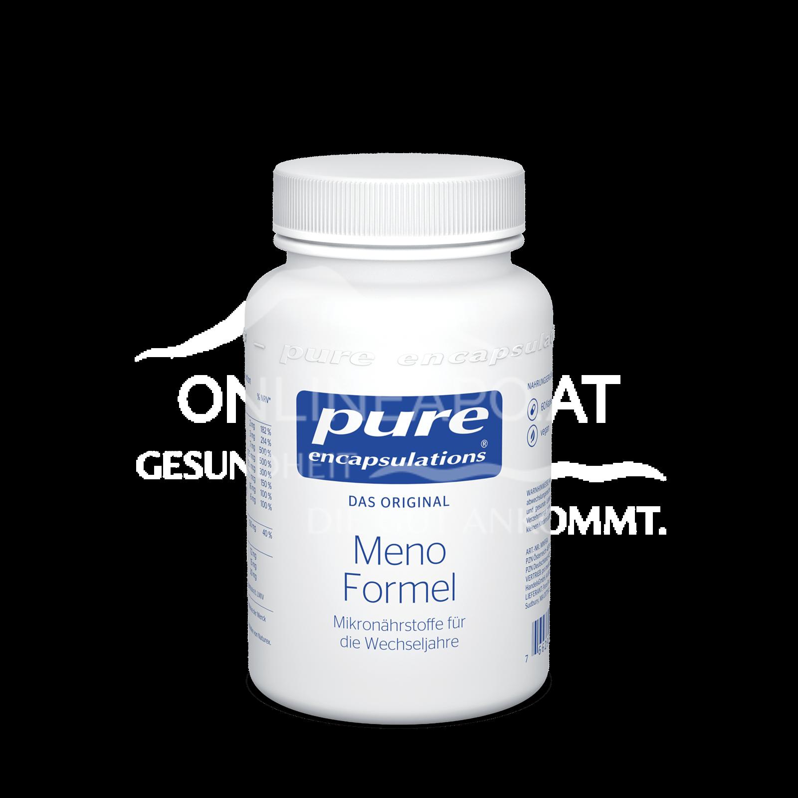 pure encapsulations® Meno Formel