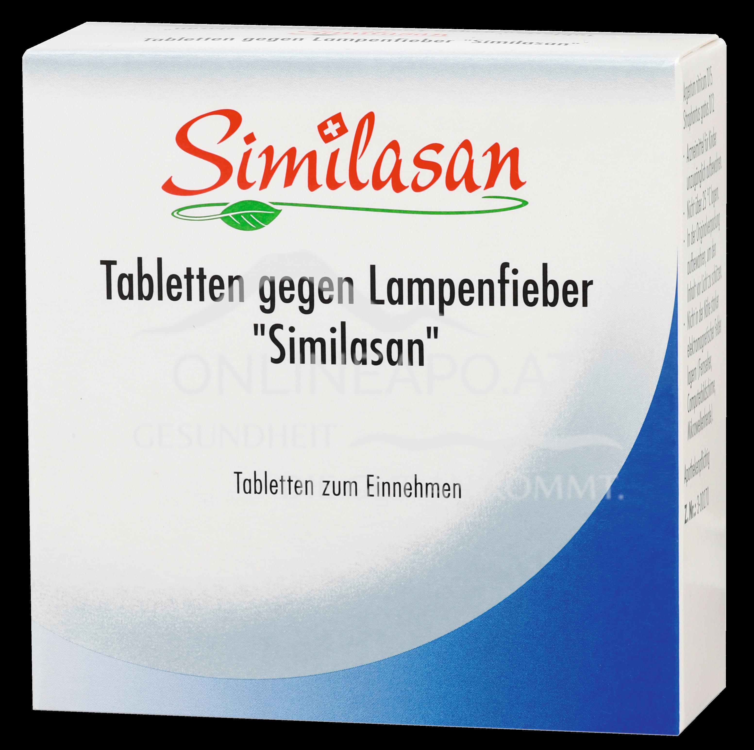 Similasan Lampenfieber-Tabletten