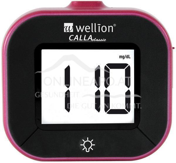 Wellion CALLA Classic Blutzuckermessgerät Set