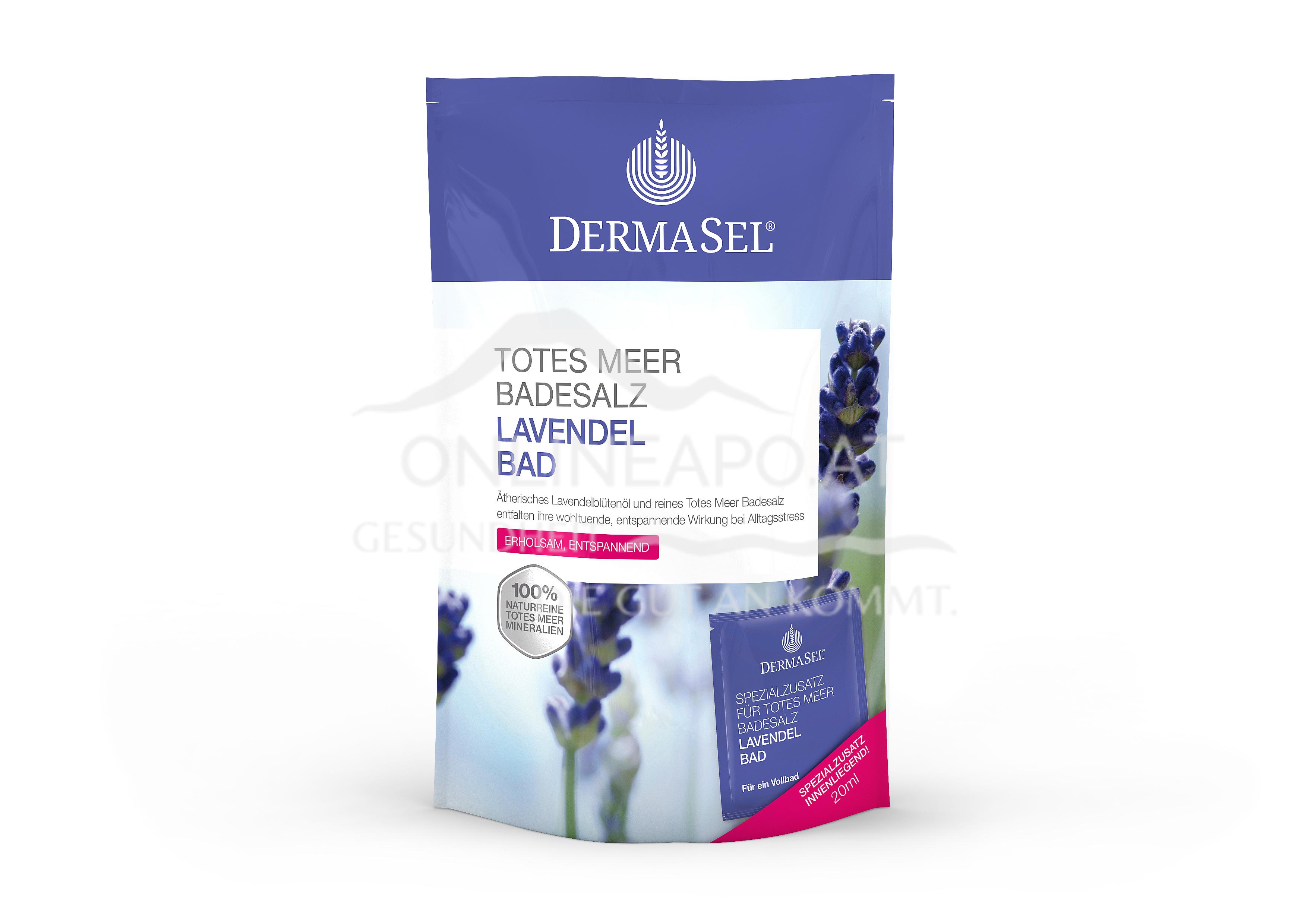 Fette Dermasel Badesalz Lavendelbad