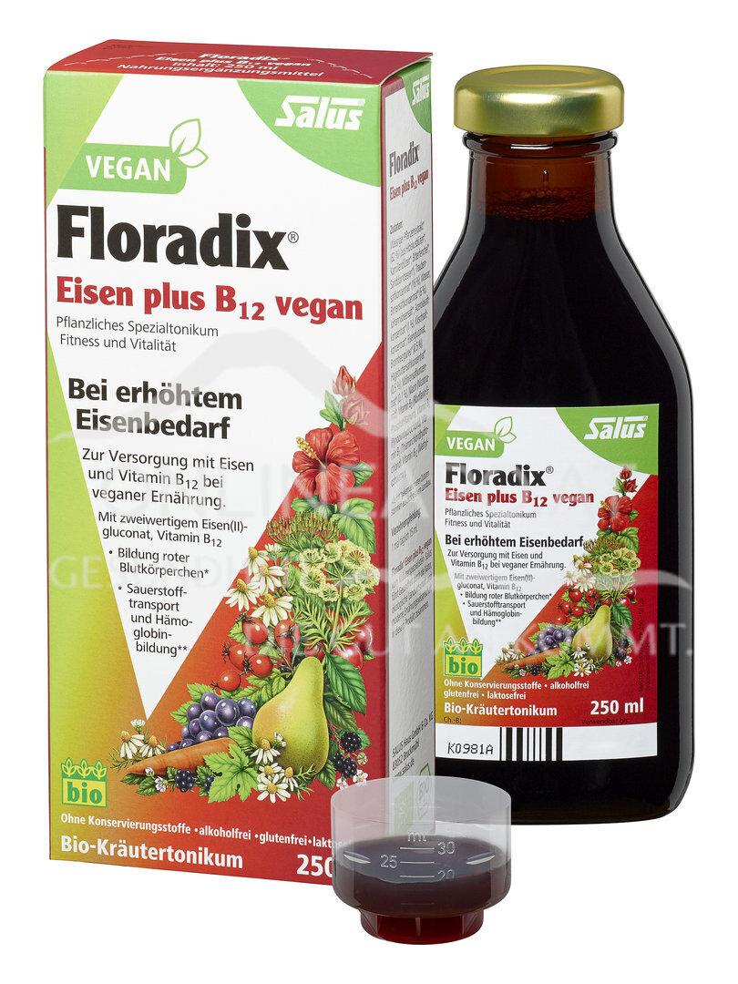 Floradix Eisen plus B12 vegan BIO-Tonikum