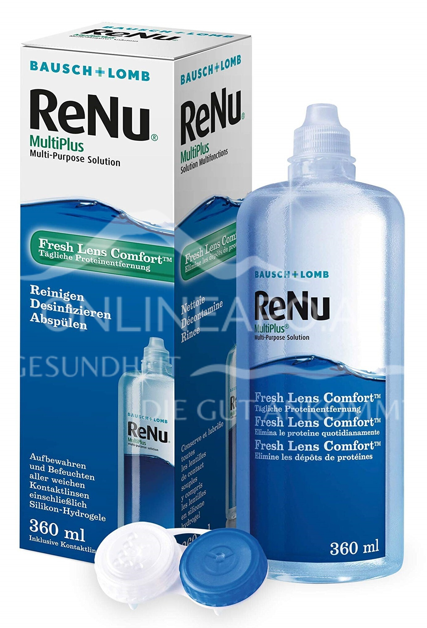 ReNu MultiPlus Fresh Lens Comfort All-in-One Pflegemittel
