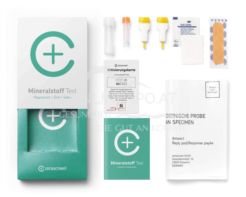 Cerascreen Mineralstoff Test