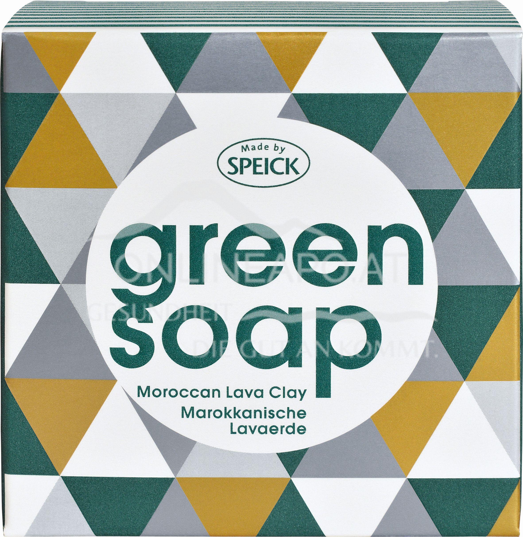 Made by Speick Green Soap - Marokkanische Lavaerde