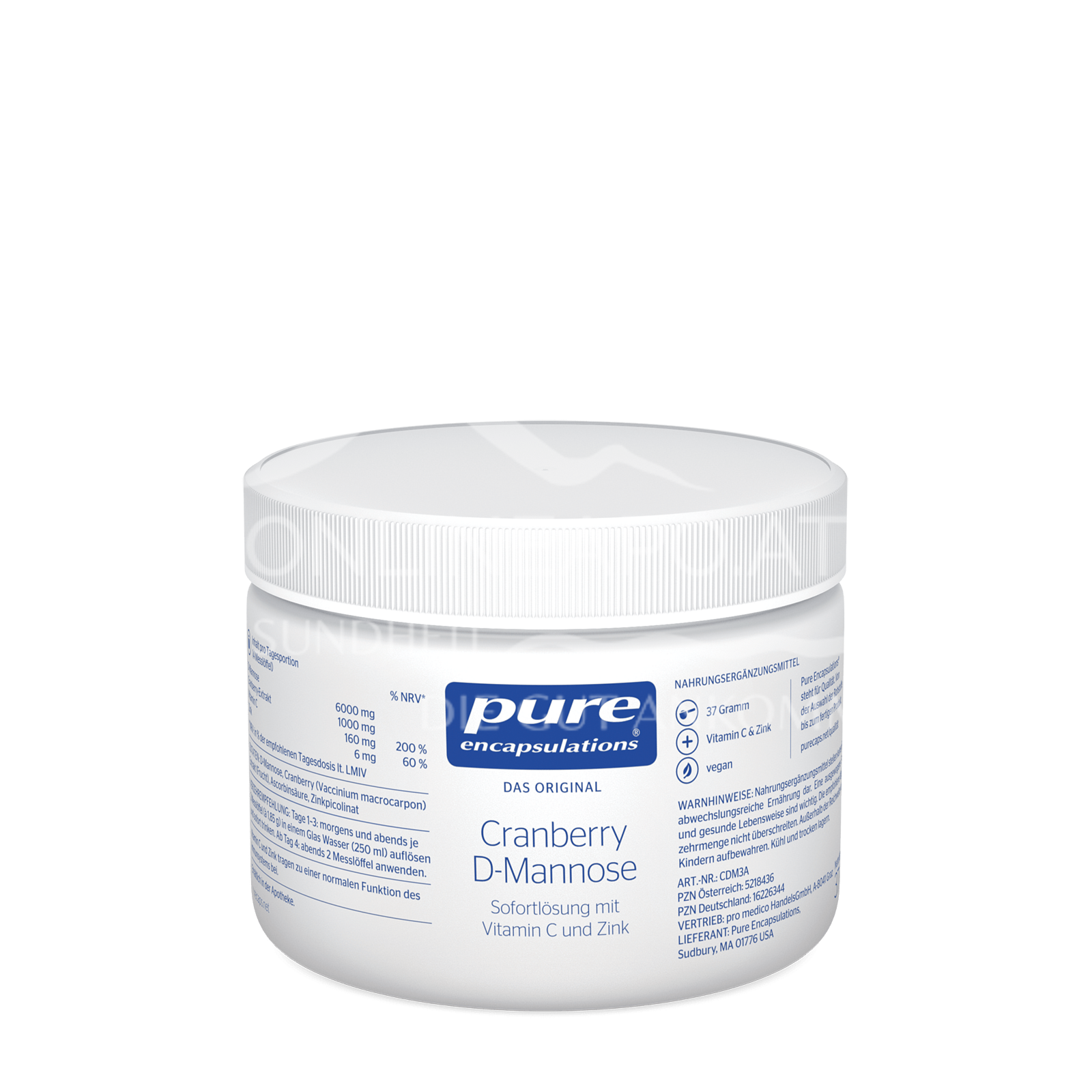 pure encapsulations® Cranberry D-Mannose