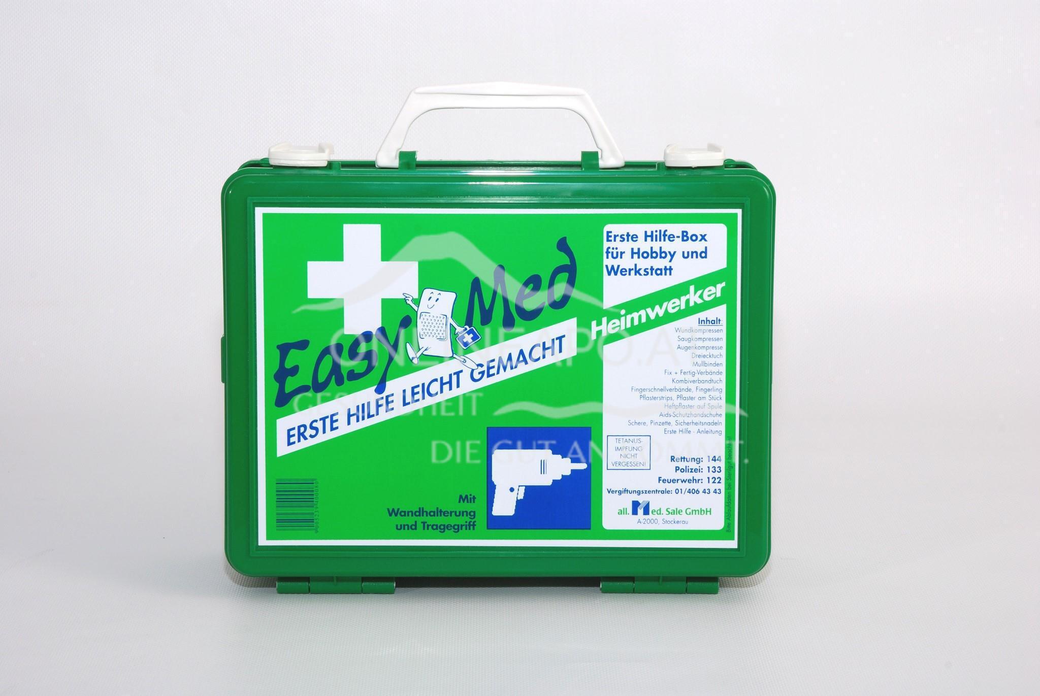 EasyMedErste Hilfe Box Heimwerker