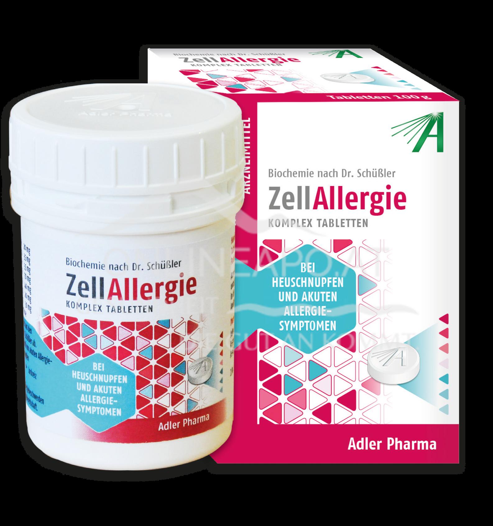 Schüßler Zell Allergie Komplex