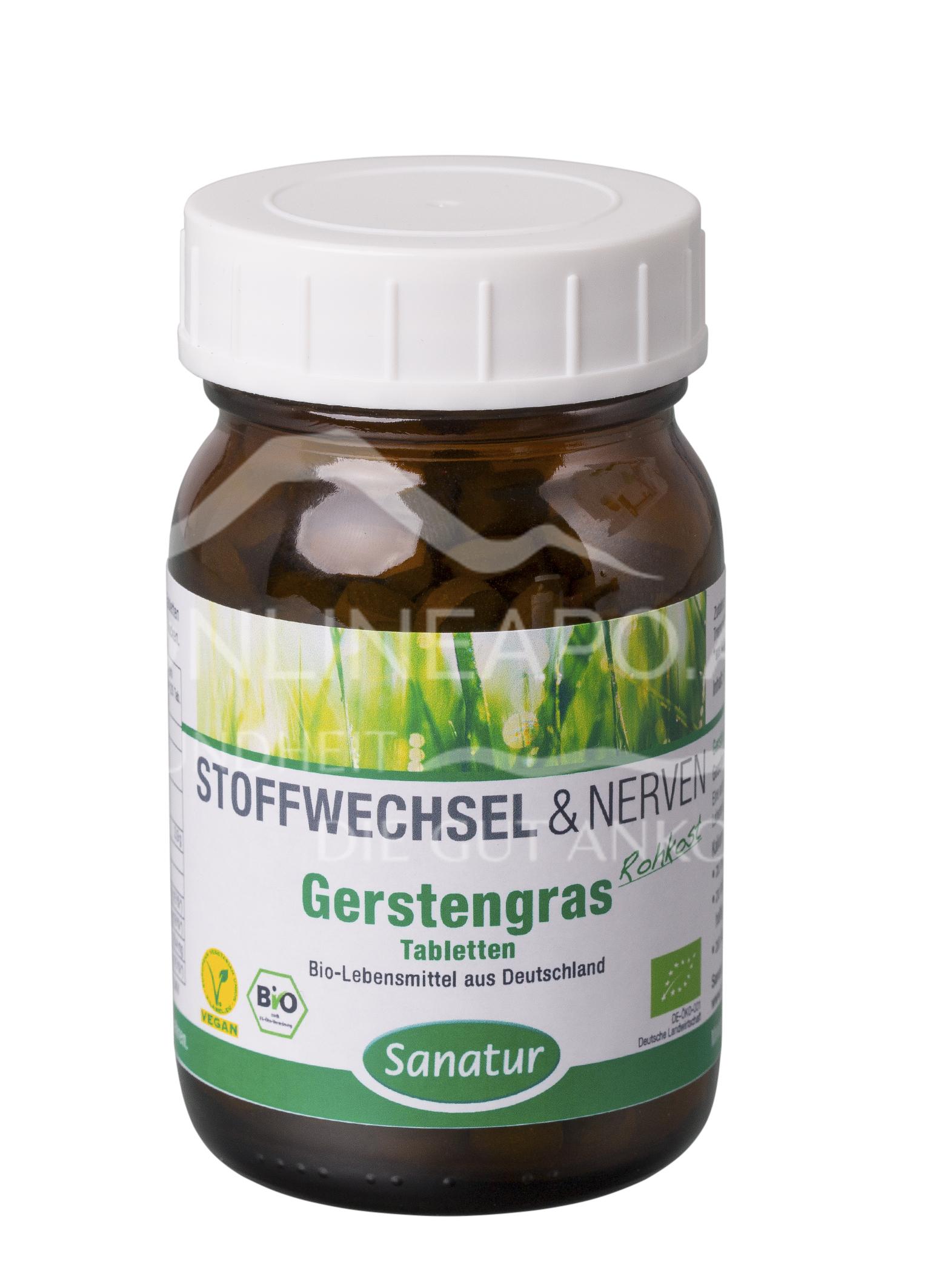 Sanatur Gersten-Gras Tabletten BIO