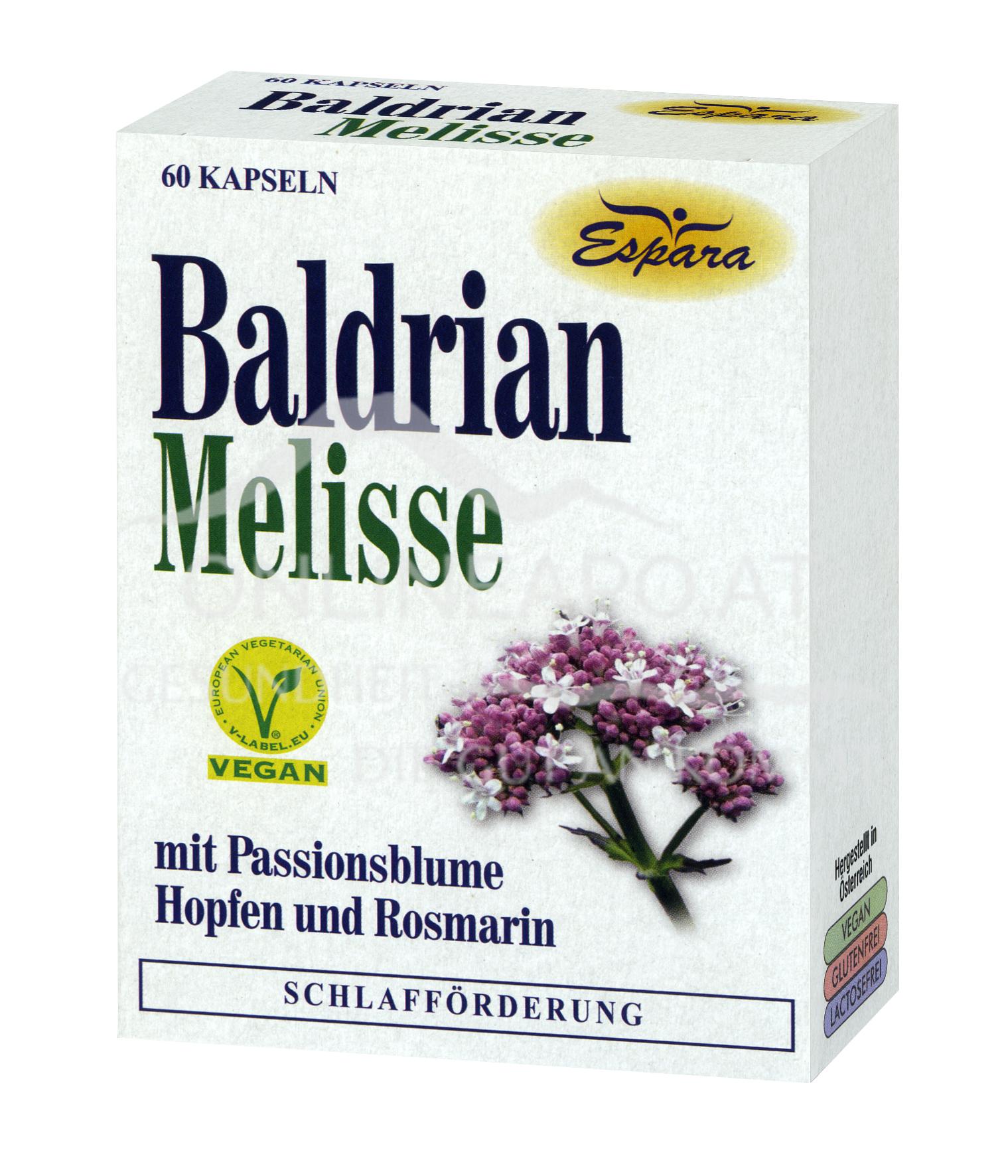 Espara Baldrian-Melisse Kapseln