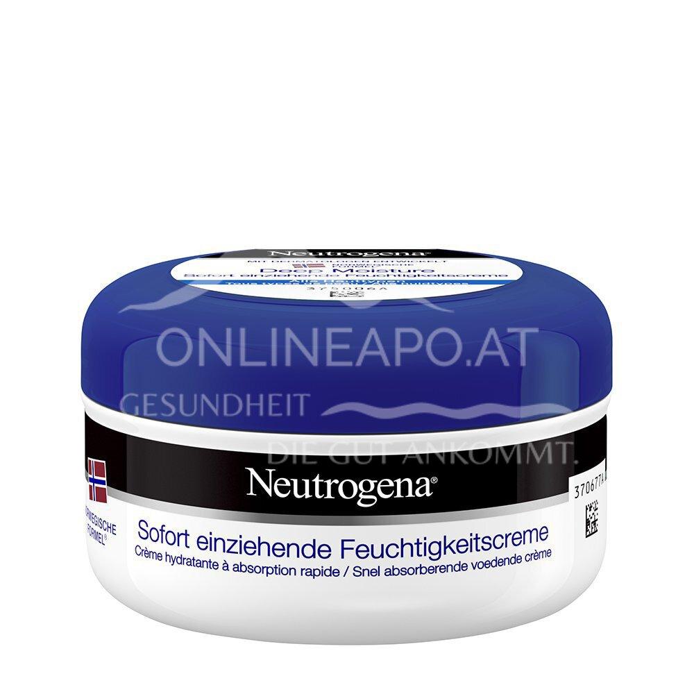 Neutrogena Deep Moisture sofort einziehende Feuchtigkeitscreme