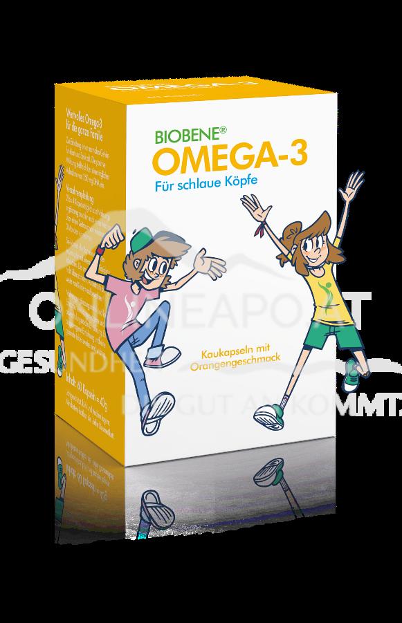 BIOBENE Omega-3 Für Schlaue Köpfe Kaukapseln