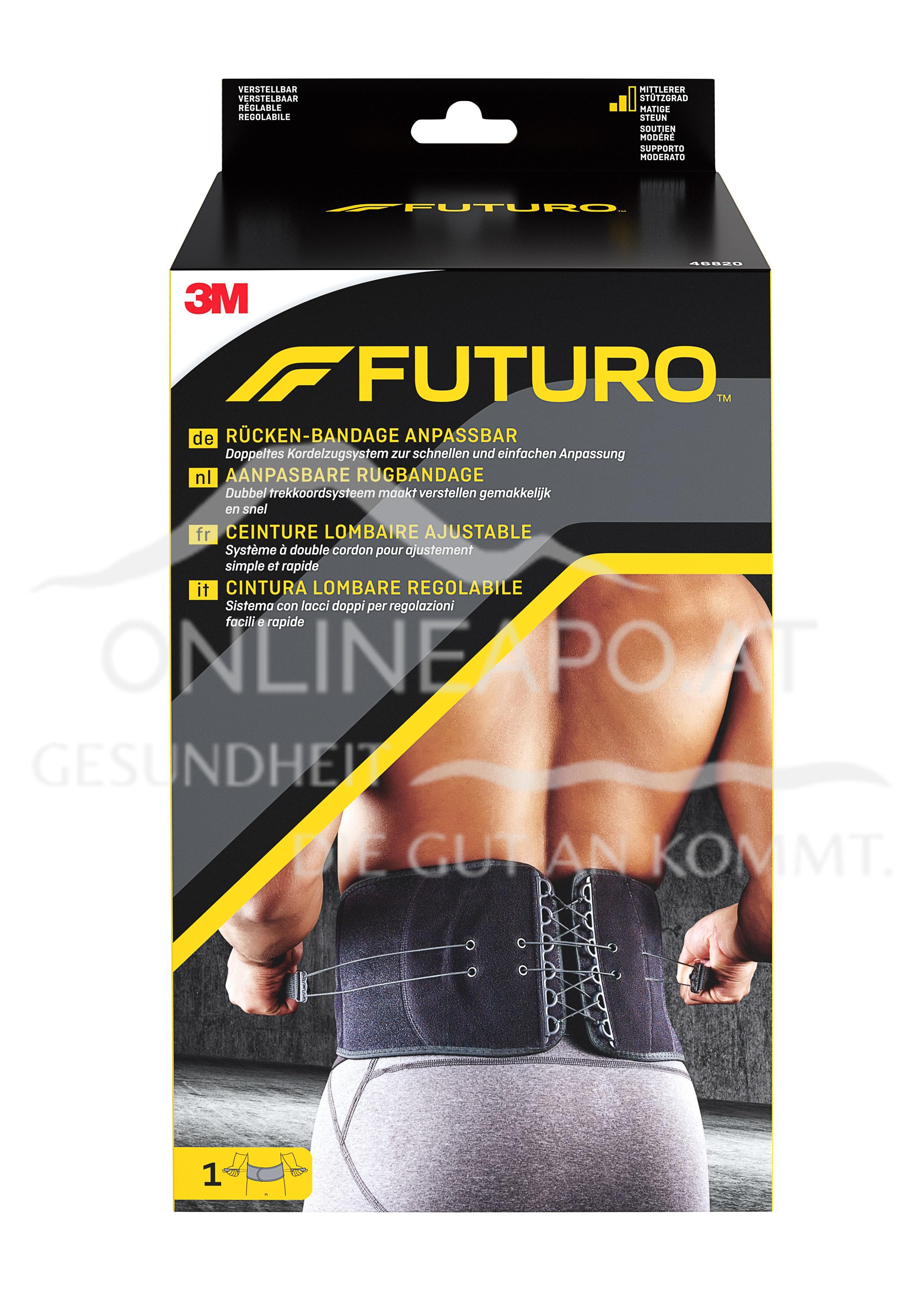 Futuro Rücken-Bandage anpassbar one size