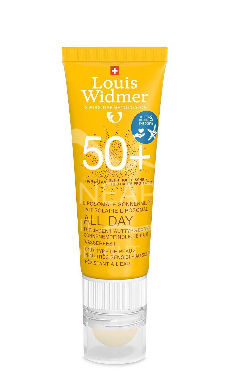 Widmer Sun All Day 50+ mit Lippenpflegestift 50