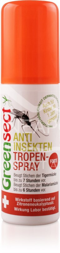 Greensect Anti-Insekten Tropen-Spray