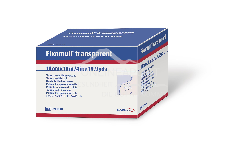 Fixomull® transparent 10cm x 10m