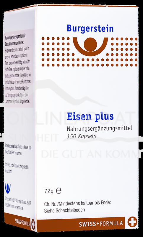 Burgerstein Eisen plus