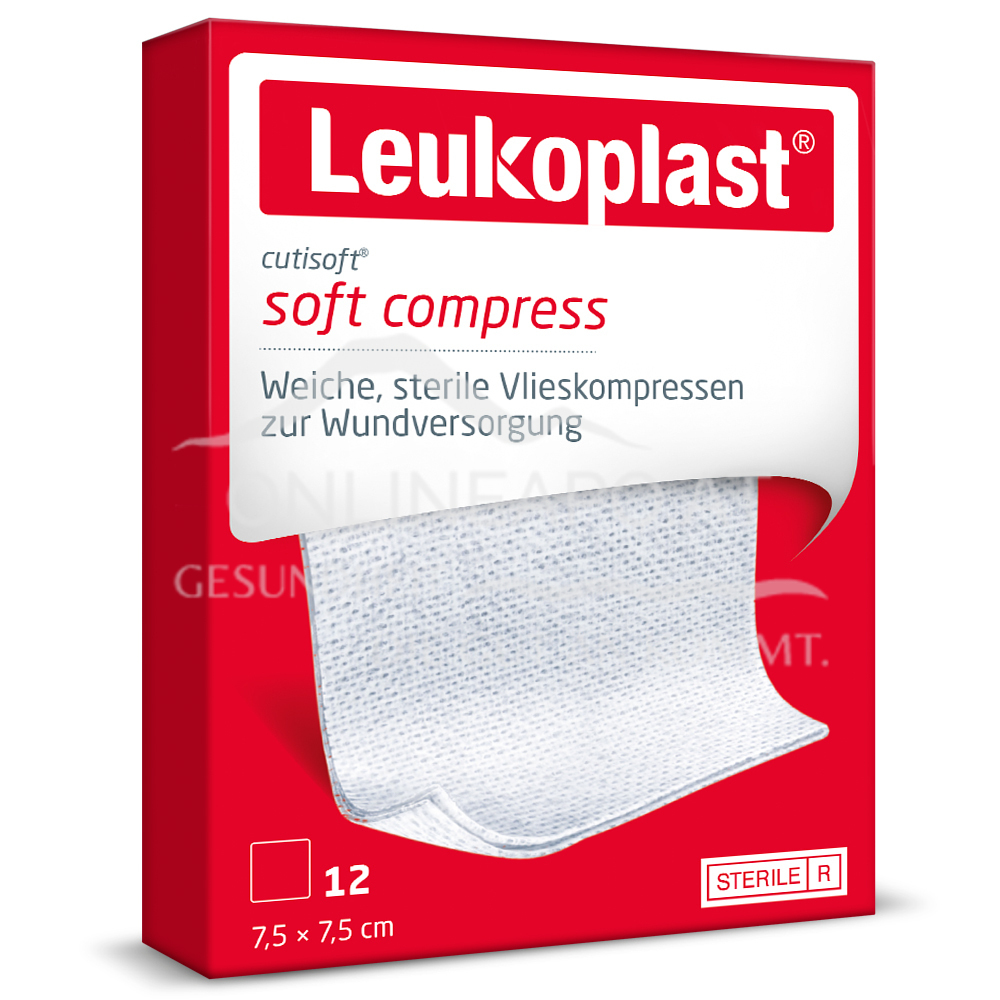 Leukoplast® Cutisoft® 7,5 x 7,5cm