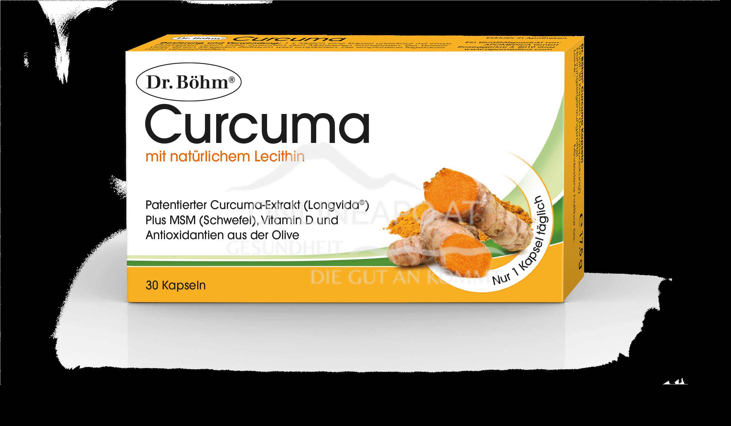 Dr. Böhm® Curcuma Kapseln