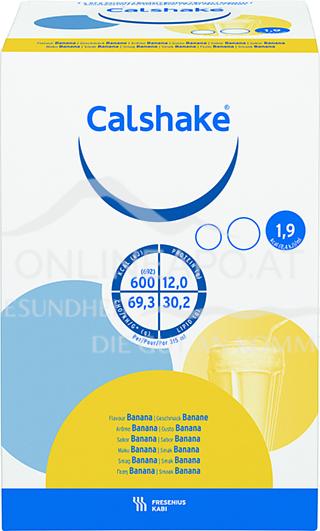 Calshake® Banane 7 x 87g